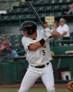 Robbie Grossman hitting