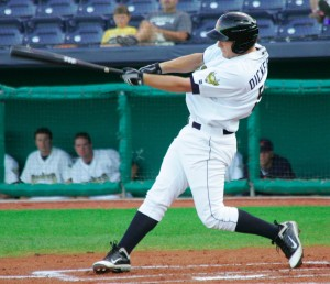 Alex Dickerson should start the 2012 season in Bradenton.