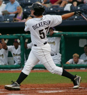 Alex Dickerson drove in eight runs tonight