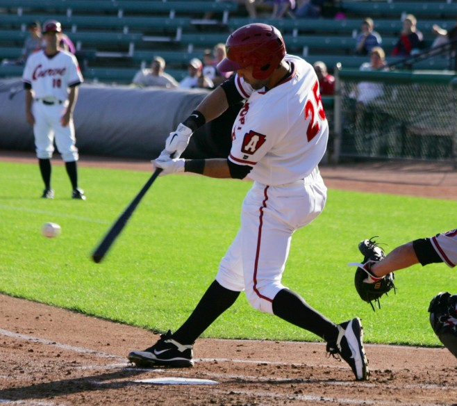 Andrew Lambo doubled off Jhonathan Ramos on Wednesday