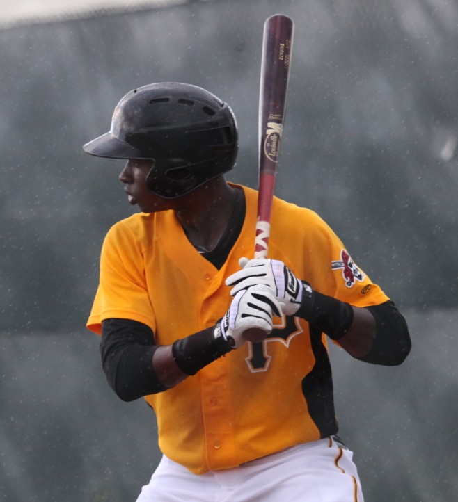 Polanco has hits in all seven games he has played in Winter Ball