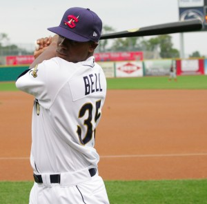 Josh Bell was the second best hitter in the system last week.