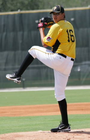 Luis Heredia went five shutout innings in his 2013 debut.