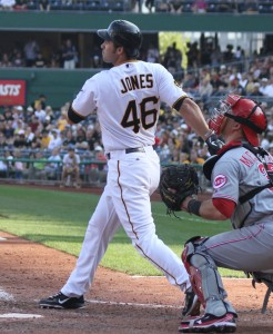 The Pirates have a lot of 1B/OF options, but plenty of room for all of them. -- Image Credit: Mark Olson