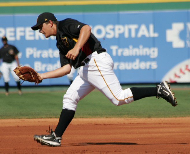 The Pirates have traded Alex Dickerson to the Padres for Jaff Decker and Miles Mikolas.