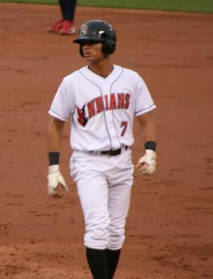 Gorkys Hernandez at first base