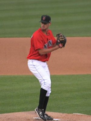 Kris Johnson threw seven shutout innings tonight
