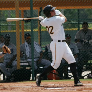 Stetson Allie continued his hot hitting at the plate with his third homer of the year.