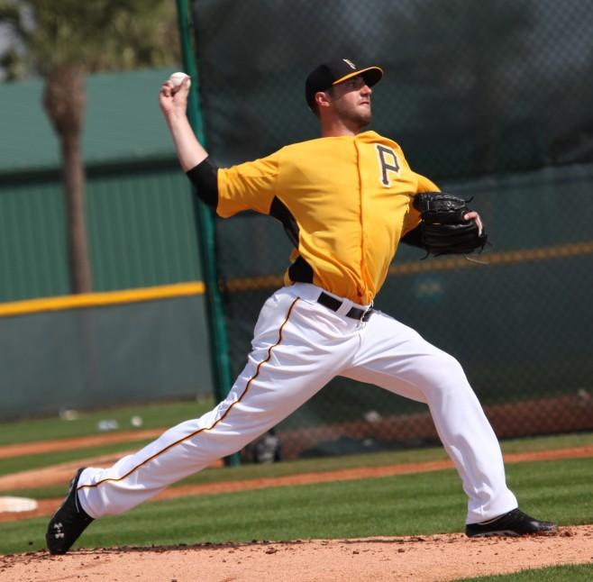 Duke Welker was walking a batter an inning during the 2010 season.