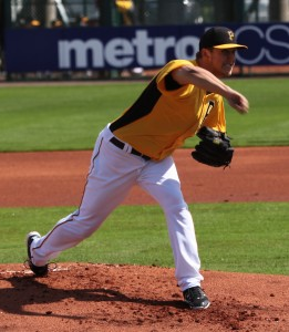 Jameson Taillon didn't have his best stuff today.