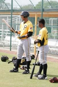 Luis Urena (left) and Dilson Herrera (right).