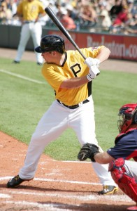 Travis Snider, who didn't have the best day, striking out three times.
