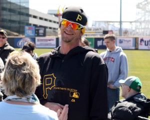 A.J. Burnett led a day of strong starting pitching across the entire organization. Photo Credit: David Hague.