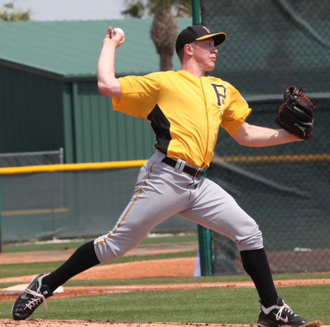 Sampson has been one of the best Pirates minor league pitchers this year