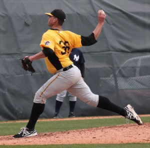 David Bromberg gave up one unearned run in 5.2 innings tonight.