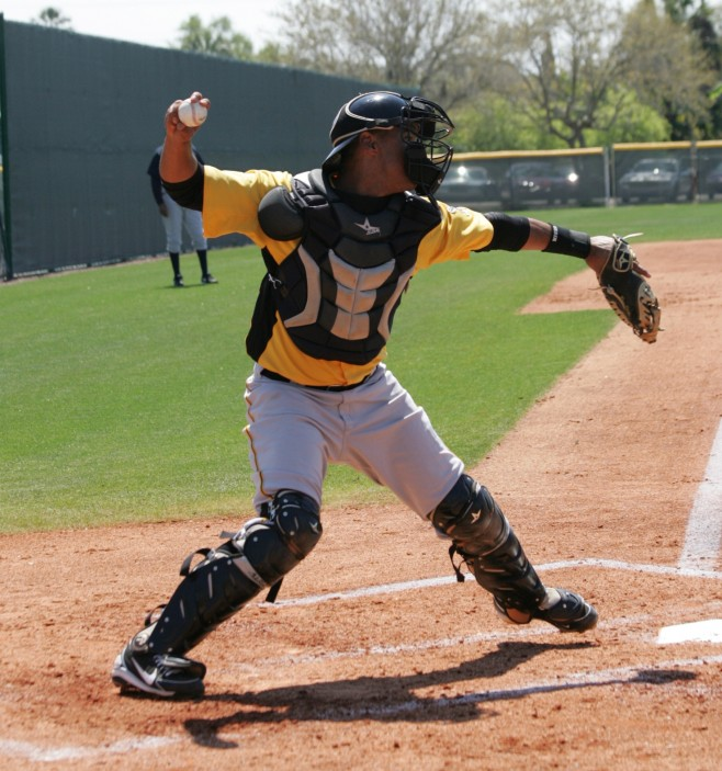 Elias Diaz is looking like a future solid MLB backup catcher, with the chance to be a sleeper as a starter.