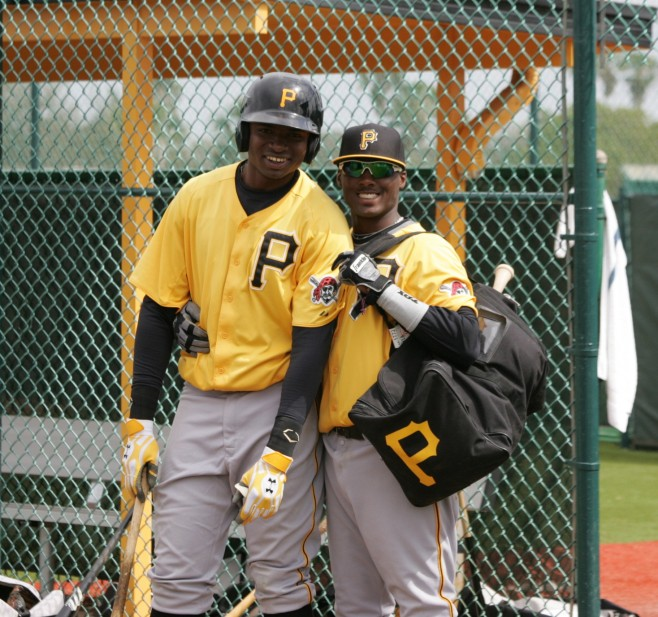 Alen Hanson and Gregory Polanco