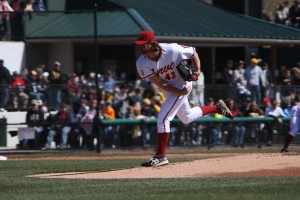 Jason Grilli got the start for Altoona. - Photo: David Hague