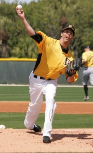 Jeff Karstens has enough time to be ready for the regular season.