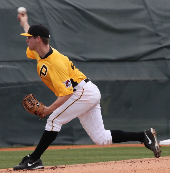 The Pirates have traded Kyle Haynes to the Yankees.