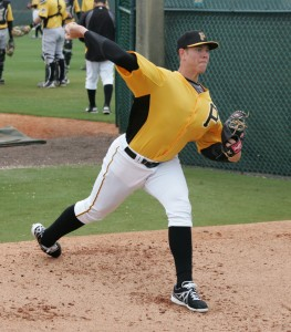 Nick Kingham threw six shutout innings.