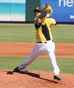 Stolmy Pimentel had the best start of the week for the second week in a row.