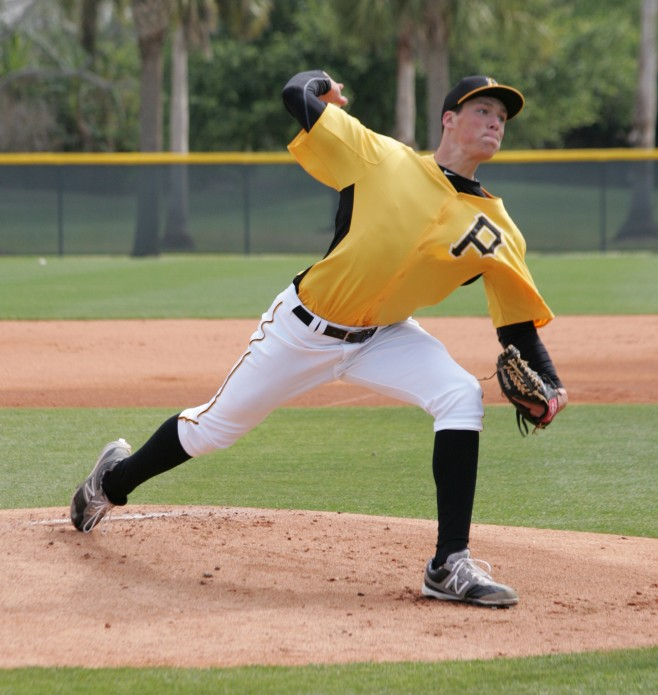 Tyler Glasnow couldn't find the plate in his last start