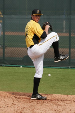 Zack Dodson threw seven no hit innings in his second start of the week.