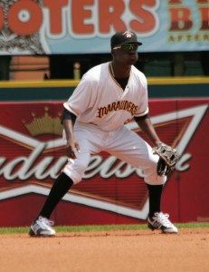 Alen Hanson ranked eighth overall among shortstop prospects