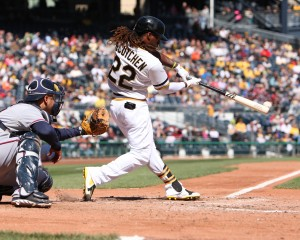 Andrew McCutchen's bat is already heating up, which will help out a surging offense. Photo credit: David Hague
