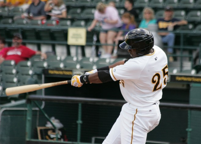 Gregory Polanco is attending mini camp in Bradenton