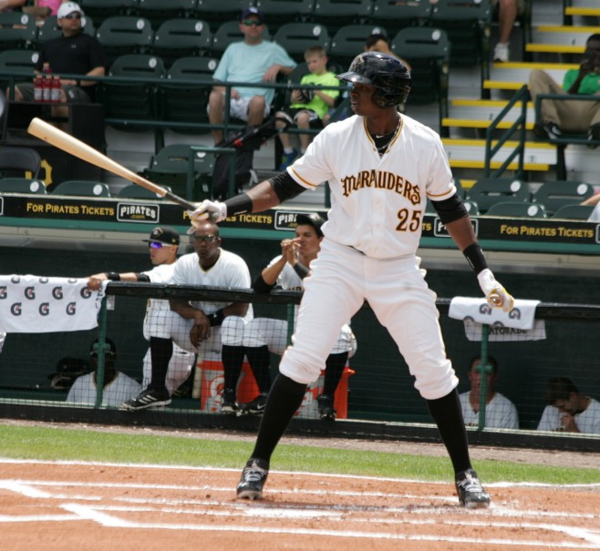 Gregory Polanco is the top prospect in the system, and should be up by mid-season.