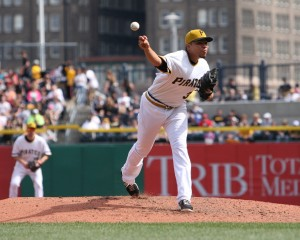 Jeanmar Gomez started in place of an injured James McDonald in Pittsburgh's win on Tuesday. Photo Credit: David Hague