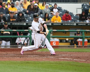 Neil Walker is one of several players who can't hit lefties. Photo credit: David Hague