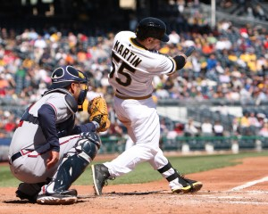 Russell Martin led the late comeback with a double and a homer. Photo credit: David Hague