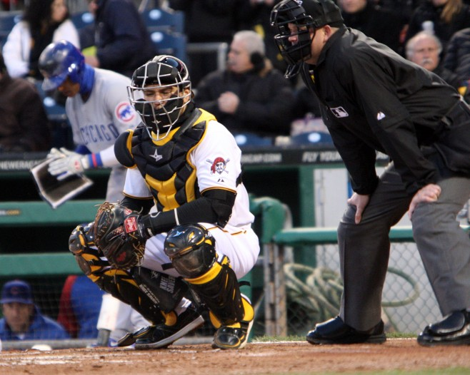Russell Martin Catching
