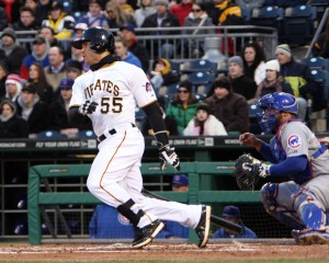 Russell Martin is one of three hitters who have hit second in the first four games. Photo credit: David Hague