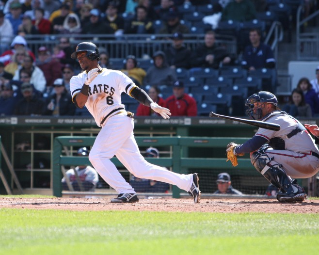 Marte returned to the lineup Wednesday night (Photo credit: David Hague)