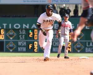 The Pirates should extend Starling Marte. Photo credit: David Hague