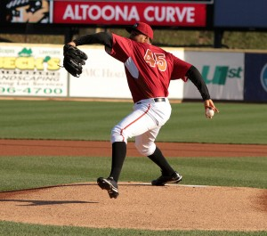 Stolmy Pimentel has been dominant in his first two Triple-A starts. Photo Credit: Mark Olson