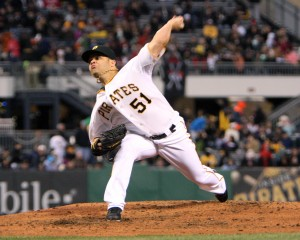 Wandy Rodriguez allowed just two and got the win in the Pirates' 3-0 victory against Chicago.