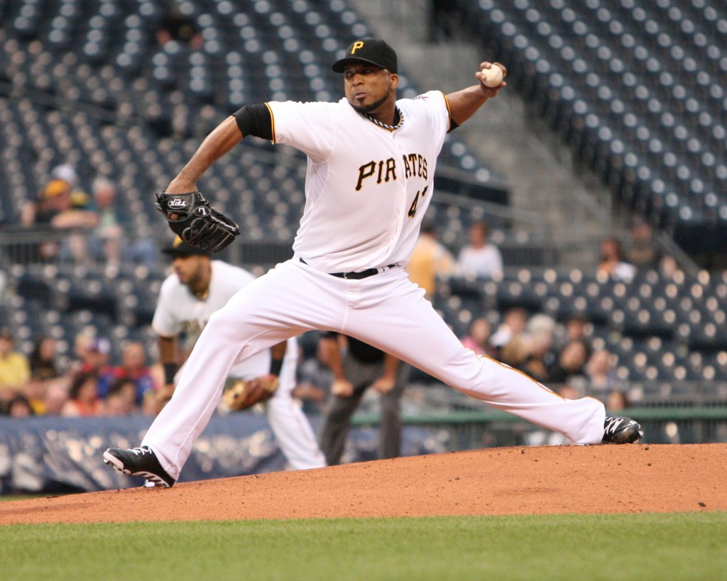 Francisco Liriano Pitching