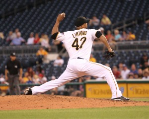 Francisco Liriano no-hit the Cubs through six innings, but didn't factor in a decision for the first time this season. (Photo Credit: David Hague)