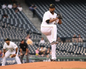Francisco Liriano was masterful in his eight innings Friday night. (Photo Credit: David Hague)