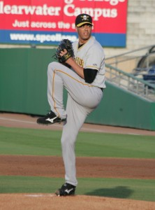 Jeff Karstens is scheduled to start for Altoona on Saturday.