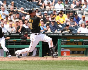 Jordy Mercer is back with the Pirates. Photo Credit: David Hague