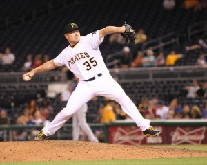 Mark Melancon blew his second save this week, although this one was on his defense. (Photo Credit: David Hague)