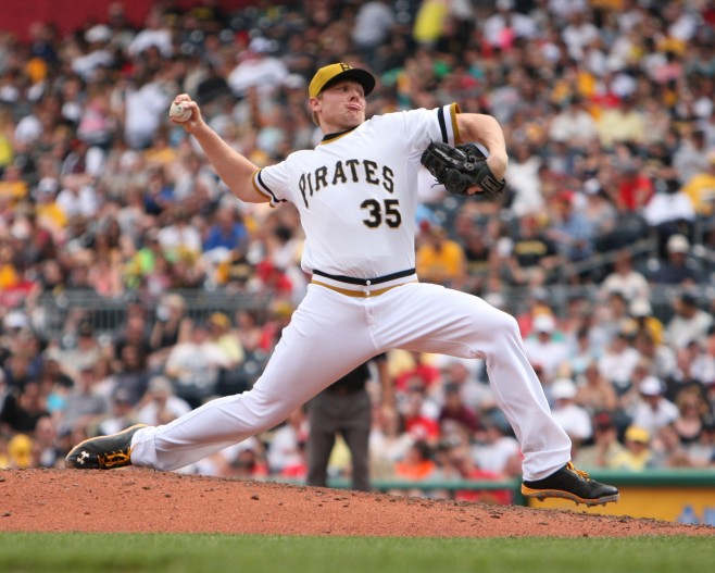 Mark Melancon has been one of the best relievers in baseball this year. (Photo by: David Hague)