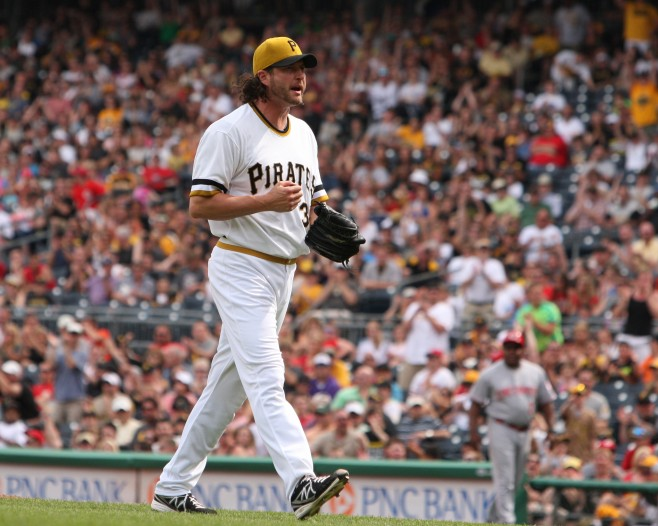 Jason Grilli could return to the Pirates by next weekend. (Photo by: David Hague)
