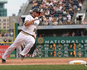 Russell Martin has been a vital part of the Pirates success so far in 2013. (Photo by: David Hague)